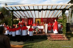 Nawiedzenie Krzyża Papieskiego 2012
