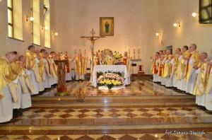 Spotkanie kapłanów wyświęconych w 1982r.
